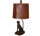 Rustic Wildlife Lamps