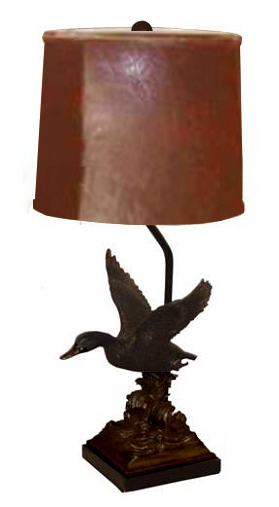 Oil Rubbed Bronze Duck Lamp